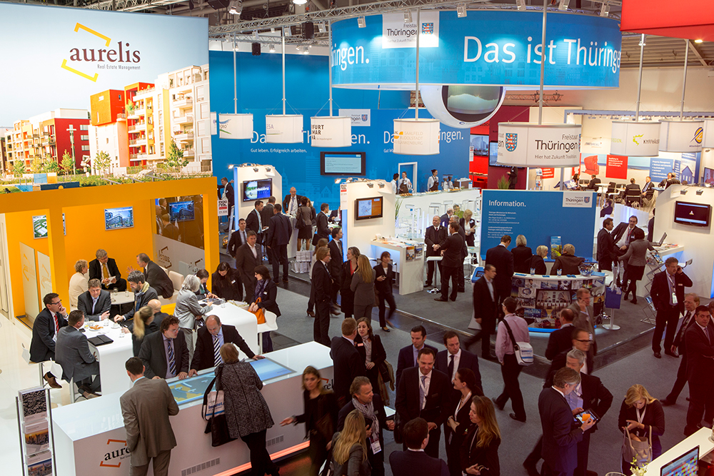 EXPO REAL München Messebauer
