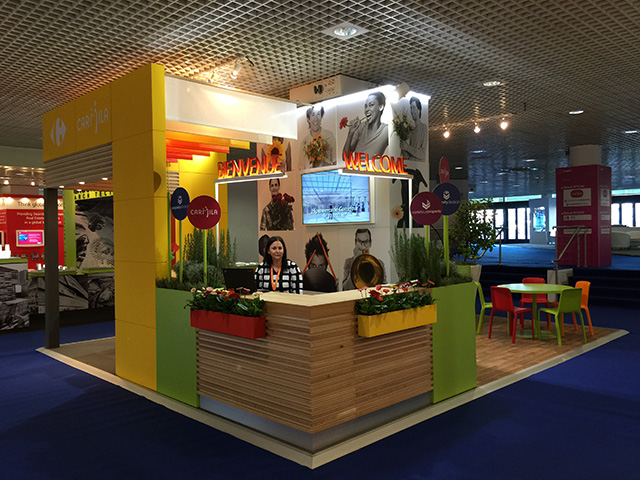 schoener Messestand Mapic Cannes Frankreich