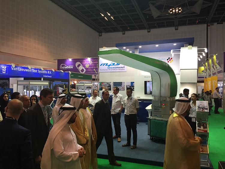 rundgang automechanika Dubai mps micropaint