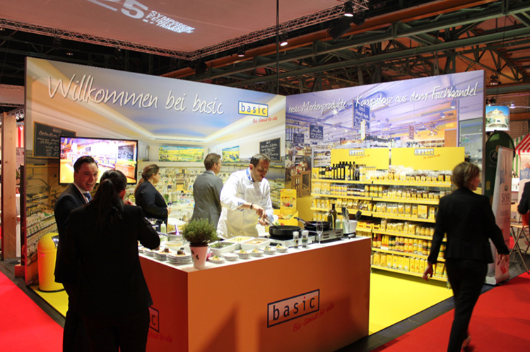 Messestand Show Koch Kueche Event