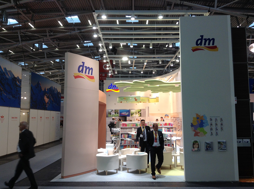 messestand expo real muenchen