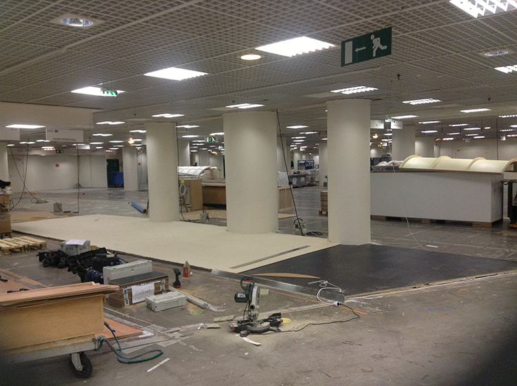 exhibtion stand builders palais level -1