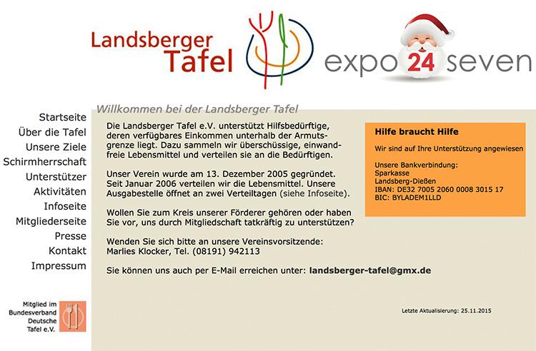 expo24seven charity weihnachten 2015