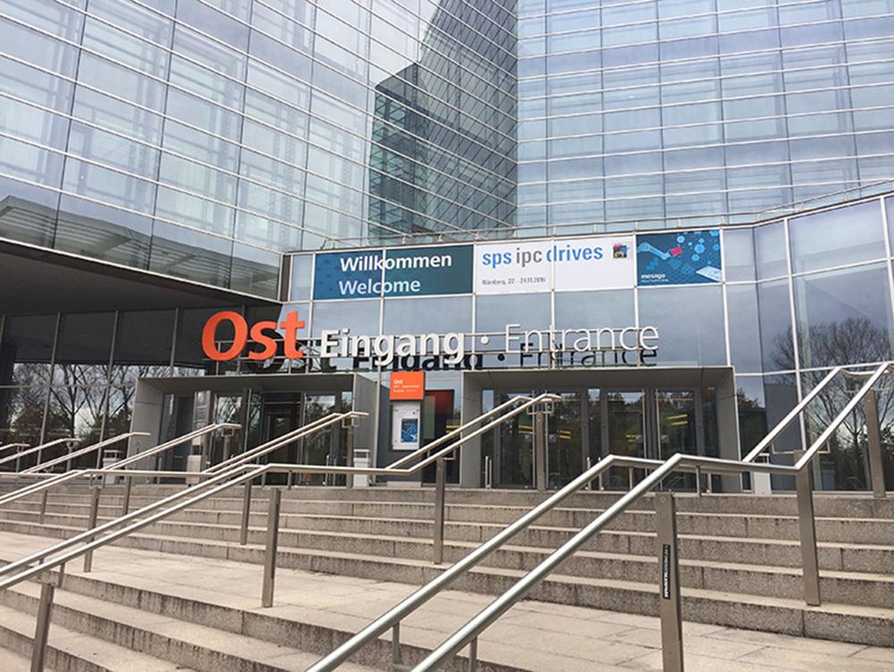 Main Entrance ot trade Fair SPS IPC