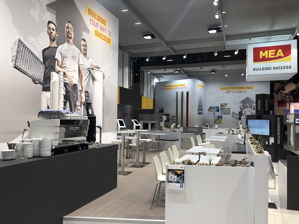 stand designer messe munich germany exhibition services