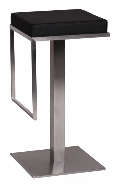 rental furniture dubai bar chair black with stainless steel feet