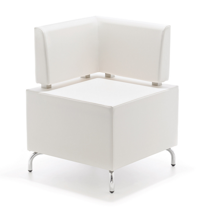 white sofa modul element rental furniture dubai