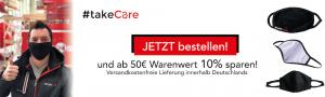 online bestellen Behelfsmaske schwarz Baumwolle Augsburg