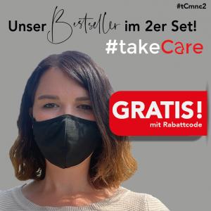 Kostenlose Baumwoll Masken vom Messebauer expo24seven