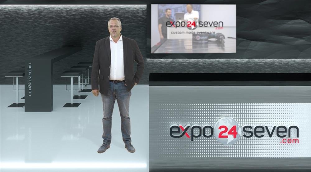 Besuchen Sie den virtuellen Hybrid Messestand digital online auf der Messe Stuttgart